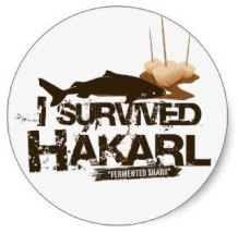 I survived hakarl