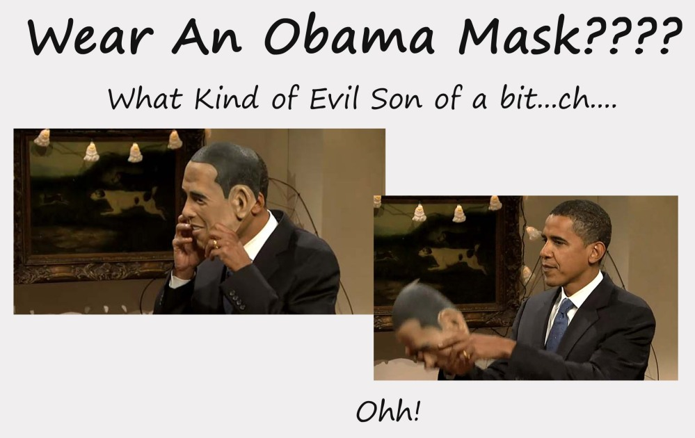 ObamaObama mask