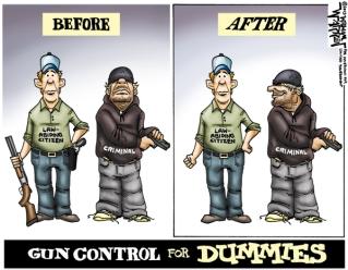 dummy gun control