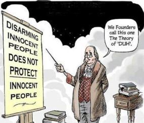 Libertarian gun control