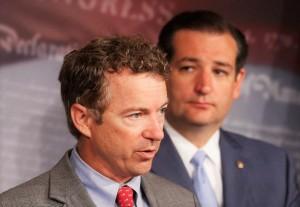 Rand Paul, Ted Cruz